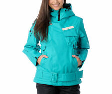 Holden Matador Jacket Womens Ski Snowboard 10k Waterproof Insulated Blue L $235