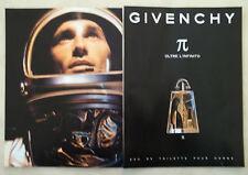 B482-Advertising Pubblicità-1999 - GIVENCHY OLTRE L'INFINITO POUR HOMME