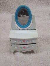 Vintage Mattel Little's Doll Furniture Vanity 1980