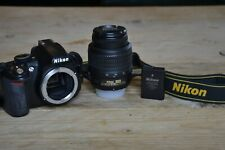 Nikon D3100 DSLR Camera with Nikkor 18-55mm VR Lens + BAG!! (14,700 Actuations)