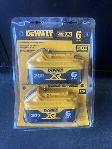 DEWALT DCB206-2 20V MAX XR Li-Ion Battery - 2 Pack