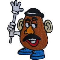 Disney Toy Story Mr Potato Head Patch Embroidered Badge Iron Sew On Clothes Bag