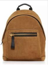 Tom Ford Men's Buckley Black Suede Leather Backpack