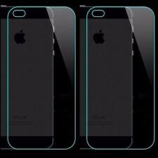 2x Backs Verre de Protection para Apple Iphone 5 5S Se Folio Panzer Trasero