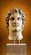 Alexander the Great bust art stone sculpture statue statuette home decor