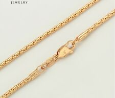 """9ct 9K Yellow """"Gold Filled"""" Ladies Lovely NECKLACE CHAIN. L 24 inches, Gift"""