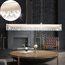 Lámpara Colgante LED 40 vatios LUJO Péndulo Luz Cristal Cristal Claro Big Luz