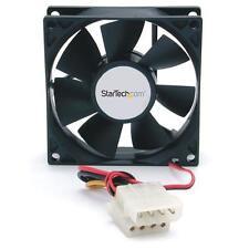 StarTech FANBOX 80x25mm Dual Ball Bearing Computer Case Fan w/ LP4 Connector