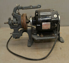 Industrial Dayton 13 Hp Split Phase Ac Motor Sewing Machine Clutch Amp Stand Tool