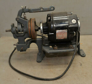 Industrial Dayton 1/3 hp split phase AC motor sewing machine clutch & stand tool
