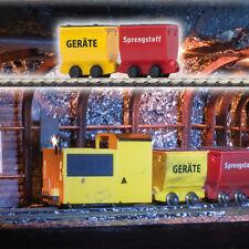 Busch HOF 5022 Mine Railway Two Trolley # NEW ORIGINAL PACKAGING #