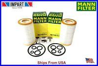 Mercedes Dodge Chrysler Mann Fleece Oil Filter Kit HU718/5x  000 180 26 09 qty.2