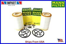Mercedes Dodge Chrysler Mann Fleece Oil Filter Kit Hu718/5x 000 180 26 09 qty.2 (Fits: Chrysler)