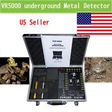 new Gold Metal Detector Underground  VR5000 hunter sliver copper Long Range king