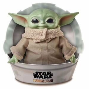 Stars Wars The Mandalorian Baby Yoda Plush Doll The Child 11 Inch Toy - ON HAND