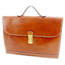 Auth Barry Business Bag with logo Mens used J20850