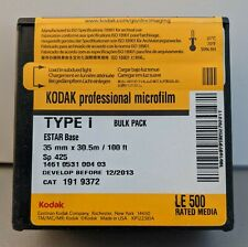 2013 Kodak Professional 35mm Microfilm Type I (100FT)