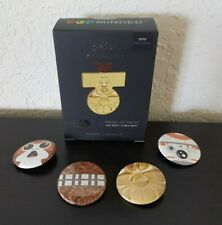 36 STAR WARS COLLECTABLE LENTICULAR MEDALS RARE