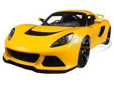 LOTUS EXIGE S YELLOW 1:18 MODEL CAR BY AUTOART 75382