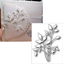 FRESH FOLIAGE metal die 98502 Memory Box cutting dies Leaves Branches Stems leaf