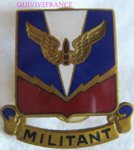 IN10340 - INSIGNE BADGE U.S. Army Militant Wings Divisional