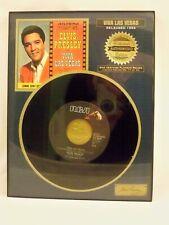 ELVIS PRESLEY VIVA LAS VEGAS COLLECTOR'S 45 RPM LIMITED EDITION NO. 17 OF 90