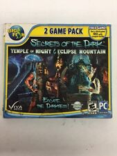 Secrets Of The Dark 2 Game Pack Temple Of Night - Eclipse Mountain (PC 2013) NEW