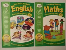 Leap ahead Maths and English ages 7-8, (2 Books Set) Collection