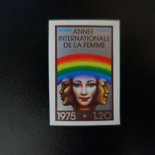 YEAR OF LA FEMME N°1857 STAMP NOT INDENTED IMPERF 1975 NEUF LUXE MNH