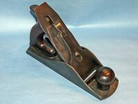 Vintage Stanley #4 1/2C ~Corrugated Bottom Bench Plane~Type 11~Circa 1910-18~VGC