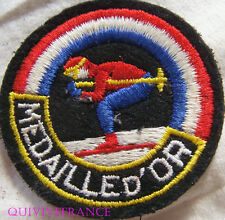 SK1384 - PATCH SKI MEDAILLE D'OR