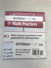 enVisionmath 2.0 Math Practices Posters Common Core Grade 3
