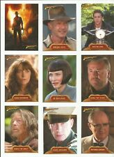 2008 Topps Indiana Jones & The Kingdom of Crystal Skull Complete Set of 90 Cards
