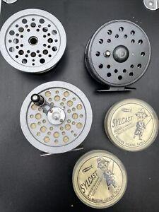 Shakespeare Speedex 3.5in Fly Fishing Reel Fast Retrieve Spare Spool Extra Reel