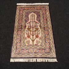 Teppiche Seidenteppich Berber 93 X 62 Cm Seide Djerba Orient Teppich Silk Carpet Tappeto Möbel & Wohnen