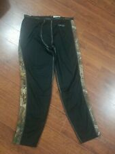 Rocky Xl Long Under Pants Camo & Black Compression Base Large Polyester/Spandex