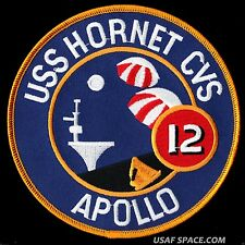 "Apollo 12 - Recovery Ship - Uss Hornet Cvs-12 - 5"" Patch - Mint *"