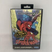 Spider-Man for Sega Mega Drive - Genuine Release - Complete - Tested & Working