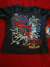 Marvel Boys Spectacular Spider Man T-Shirt Boys Size 2T 100% Cotton