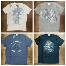 New Abercrombie & Fitch Wolf Pond Tee  T-Shirts, All Colors and Sizes