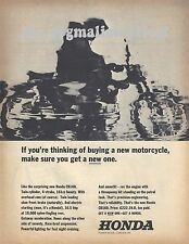 Honda CB160 Twin Cylinder - Original 1965 Single-Page Vintage Magazine Advert