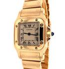 Cartier Santos Galbee 18K Yellow Gold 23mm Quartz Women's Watch - 866930
