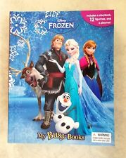 DISNEY FROZEN MY BUSY BOOKS ACTIVITY KIT STORYBOOK 12 FIGURE TOYS & PLAY MAT NEW
