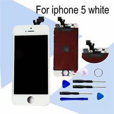 UK Apple White For iPhone 5 5G LCD & Touch Screen Digitizer Assembly
