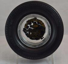 "Dunlop Ashtray Twin Belt Gold Seal ""78""  Tire Mart Harrisburg"