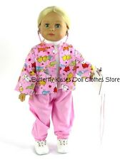 Pink Veterinarian Outfit w/Accessories 18 inch American Girl Doll Clothes