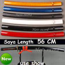 Japanese Samurai Katana saya Hard wood Sheaths 56cm sword scabbard wakizashi use