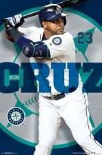 Nelson Cruz MASHER Seattle Mariners MLB Baseball Superstar Wall POSTER