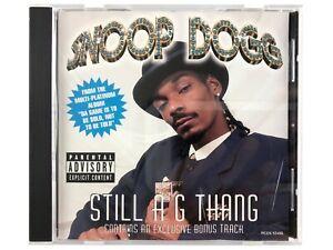 SNOOP DOGG STILL A G THANG SINGLE CD 2008 1ST PRESS RAP HIP HOP G FUNK GANGSTA
