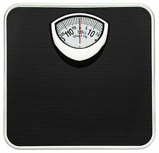 Weighing Scale GVC Analogue Personal Health Check Up Fitness Black Capacity120Kg